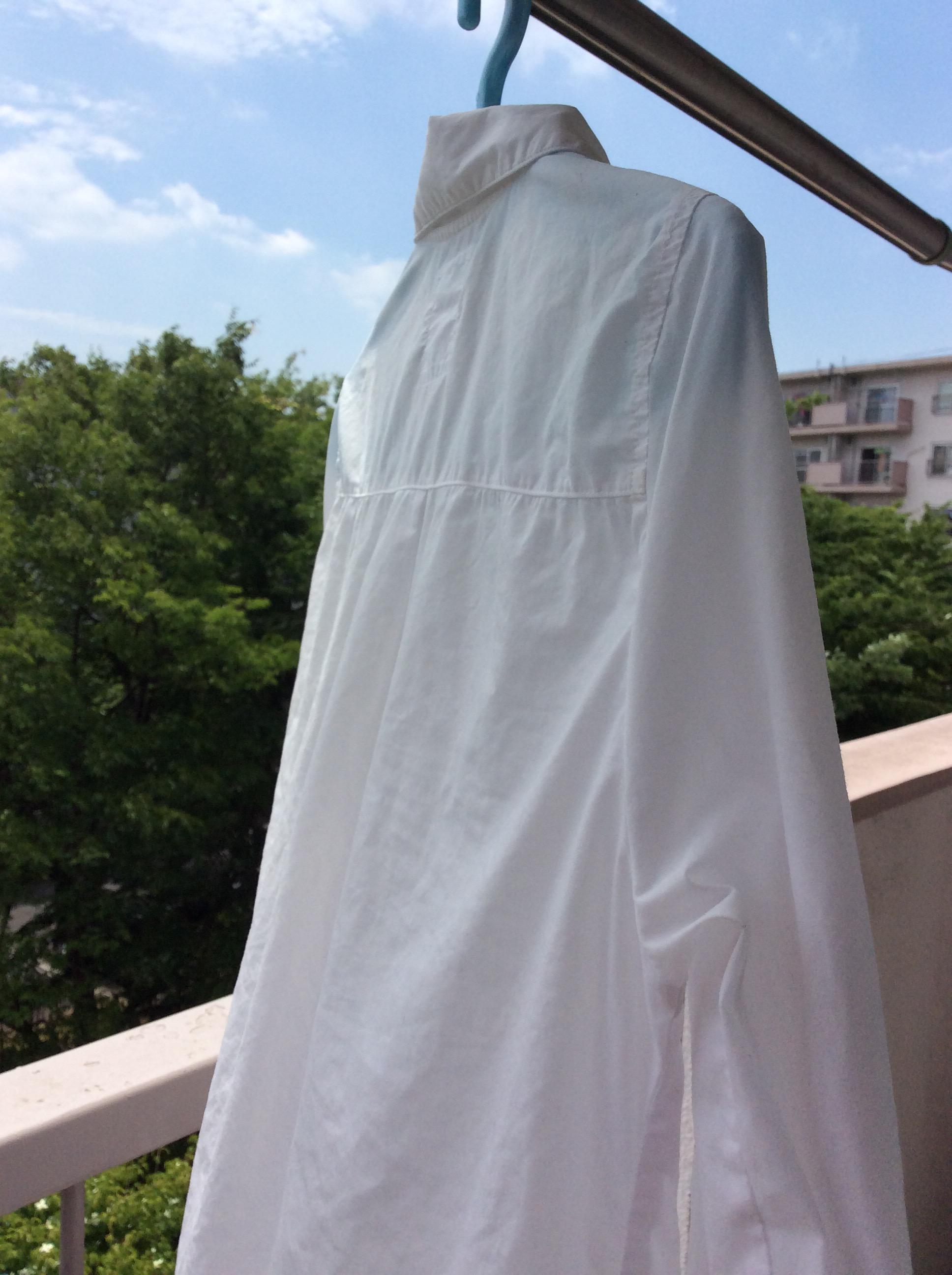 覚書:色移りした白シャツ復活